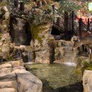 replica outdoor fountain within Bass Pro Pyramid