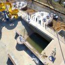 Batesville Aquatic slide installation