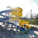Installing 2 slides at Batesville Aquatic