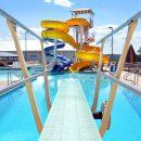 Batesville Aquatics twisting slides