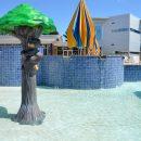 Batesville Aquatics pool decorations