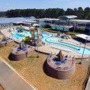Batesville Aquatics outdoor pool area
