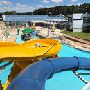 Batesville Aquatics twisting slide