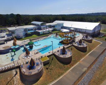 Batesville Aquatics pool complex