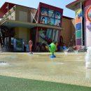 Childrens museum splash pool