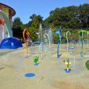 Large childrens splash pool