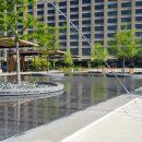 Crosstown concourse fountain