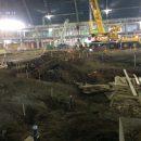 Ground work being undertaken within Bass Pro Pyramid